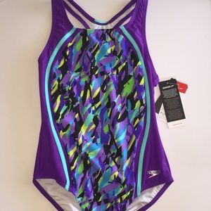 Girls size 14 one piece swimsuit